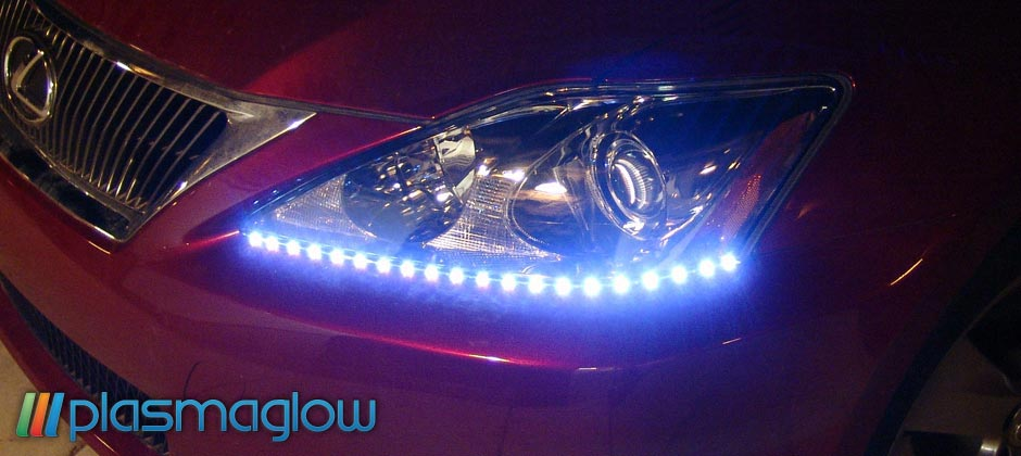 Breathing Lightning Eyes Led Headlight Kit Plasmaglow