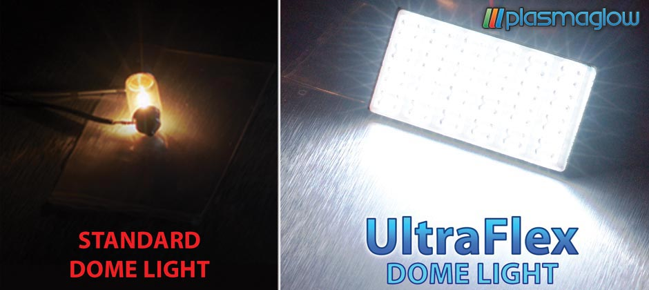 Ultraflex led dome lights plasmaglow aloadofball Images