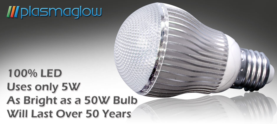 Recent developments in LED technology have made it possible for LED light  bulbs to be competitive in the home and commercial lighting markets. 5 Watt Home LED Bulb 110v 220v   PlasmaGlow