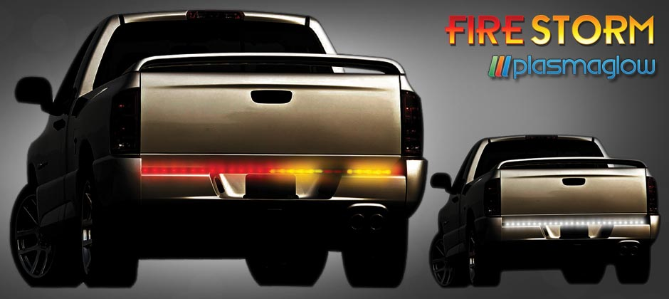 Firestorm scanning led tailgate bar plasmaglow firestorm scanning led tailgate bar aloadofball