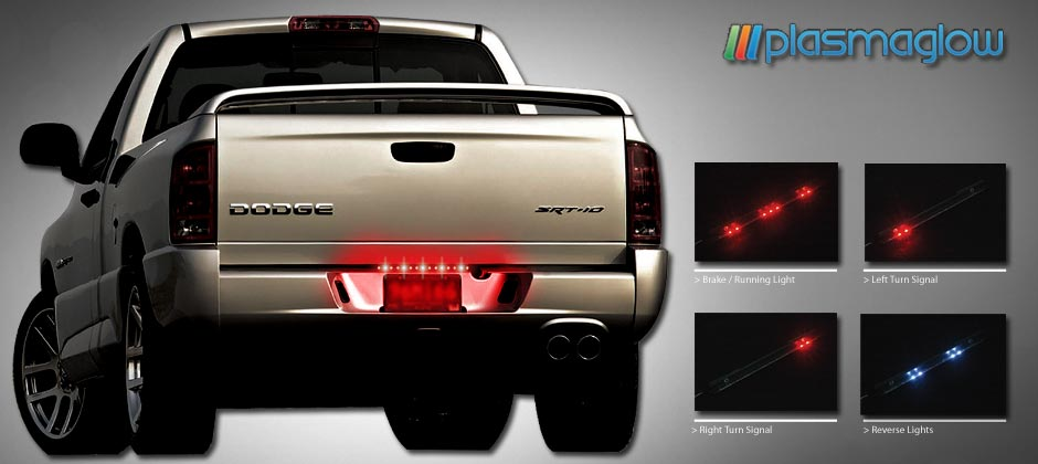 12 mini fire ice tailgate bar plasmaglow as a compliment to our popular fire and ice signal kit line this 12 inch led bar fits any and all trucks offering a look that is a little bit more subtle aloadofball Image collections