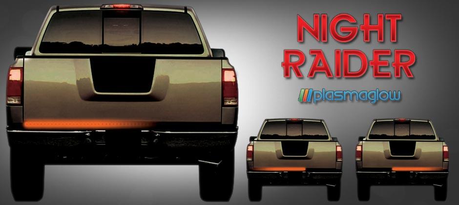 Night raider scanning led tailgate bar plasmaglow night raider scanning led tailgate bar aloadofball Choice Image